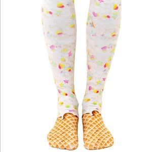 Knee High Ice Cream Socks